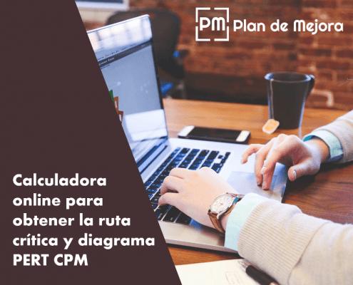 Calculadora de la ruta crítica y diagrama PERT CPM online