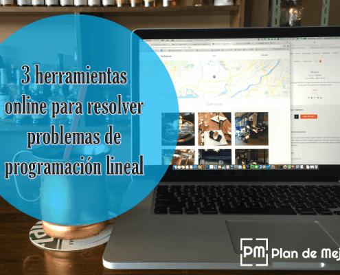 3 herramientas online para resolver problemas de programación lineal