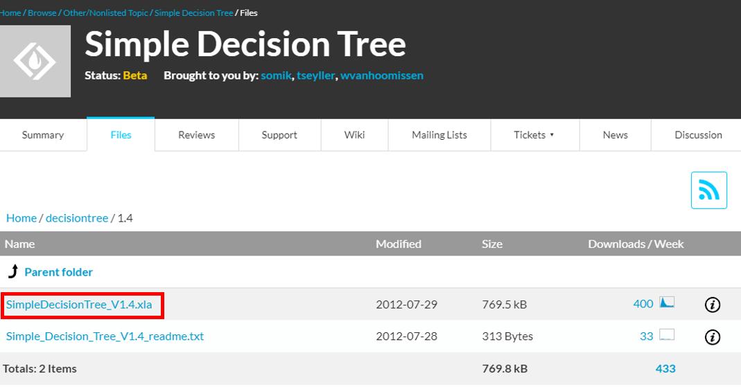 Complementos de excel para hacer un árbol de decisiones