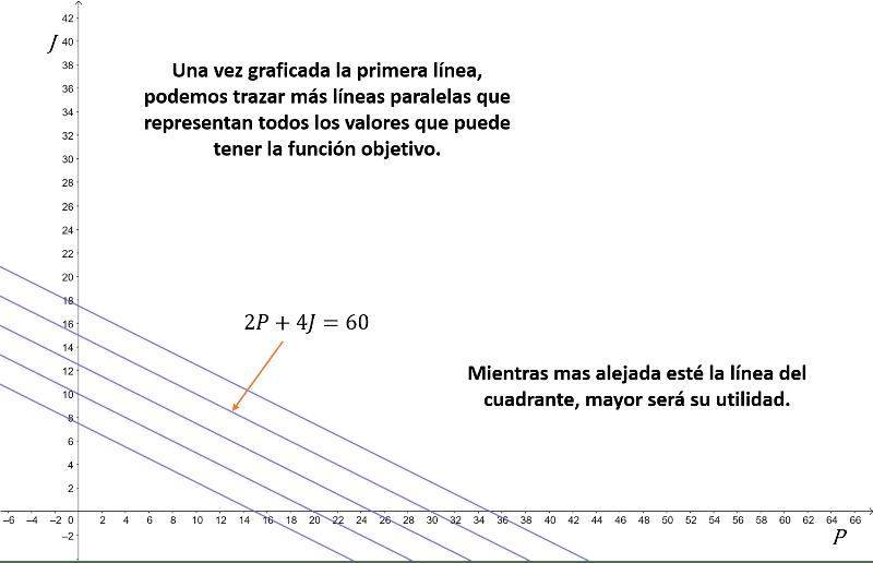 funcion objetivo paralelas