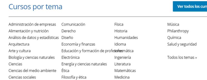 secciones edx